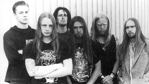 A picture of the band from the promotional material of With Fear I Kiss the Burning Darkness